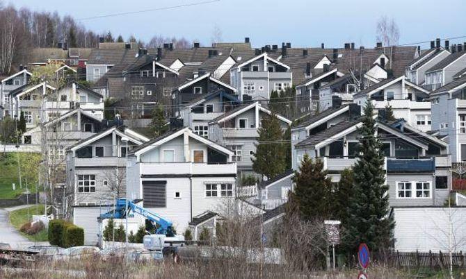 EINEBUSTADER: Framleis bur over halvparten av alle nordmenn i einebustad.