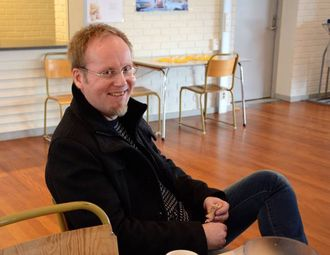 POSITIV: Øyvind Hamre, leiar av FAU ved Lærdalsøyri skule, meinar Vennskapsveka virkar positivt inn på læringsmiljøet.