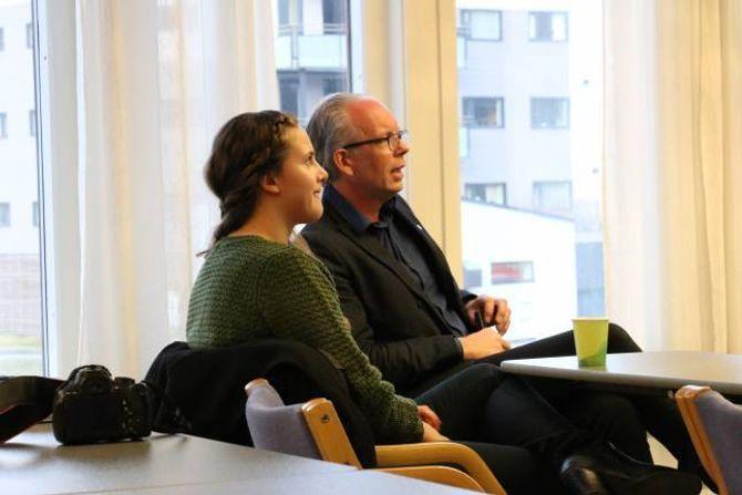EFFEKTIVE: I laupet av svært kort tid har Silje Anette Teigen og Terje Horvei fått til ei Venstre-liste i Årdal.