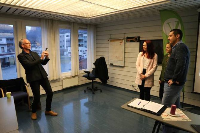 AMBISJONSRIK: Venstre i Årdal i klare ambisjonar om å koma seg inn i kommunestyret.
