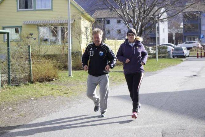 SENTRUMSLØPET: Om to veker skal Rinde delta på Sentrumsløpet.