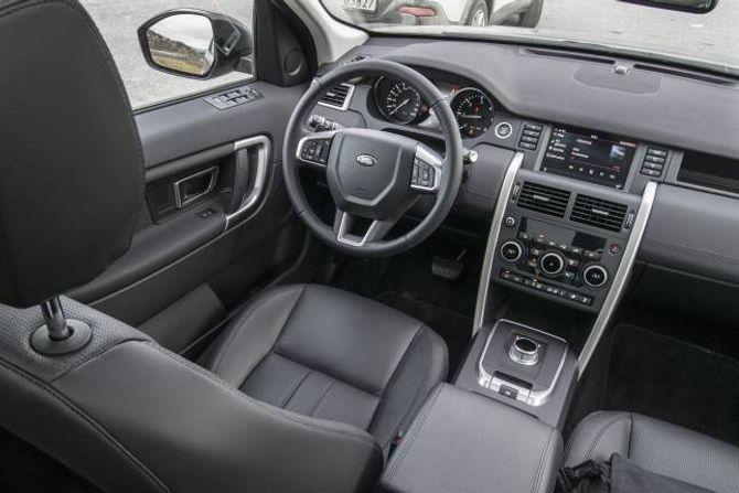 LAND ROVER: Klar premium bilkjensle med dette interiøret.
