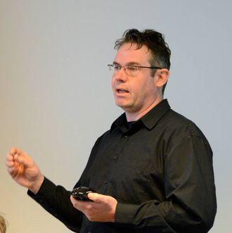 LA FRAM ALTERNATIV: Terje Gregersen, planleggar for konsulentselskapet Norconsult i Bergen.