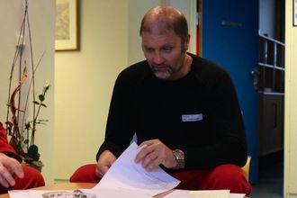 NØGD: Fabrikksjef Egil Fredriksen har sjølvsagt nøgd med resultatet for 1. kvartal i 2015.