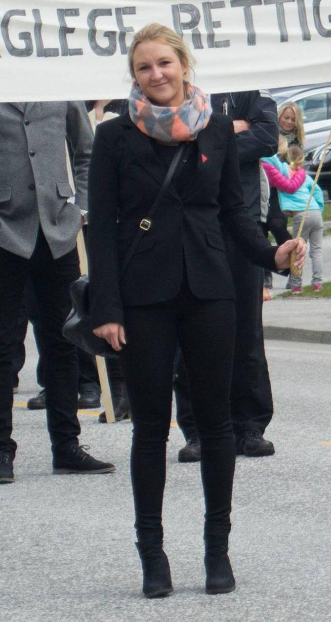 Line Nygård Rudrudjordet (27) er stolt av å vere industriarbeidar.