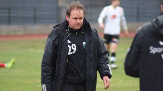 NØGD MED INNSATSEN: Ivan Øy, trenar for Årdal FK. Arkivfoto