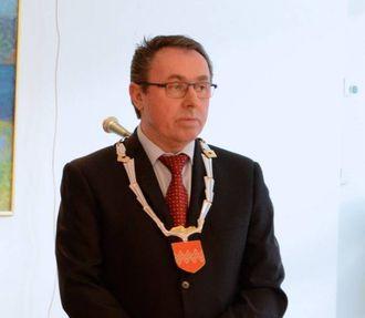 NØGD MED SAMARBEID: Ordførar i Årdal, Arild Ingar Lægreid.