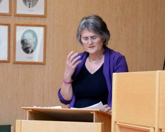KOMMUNIKASJONSPLAN: Anna Avdem (SV) foreslår at informasjonsplanen heller bør heite kommunikasjonsplan.