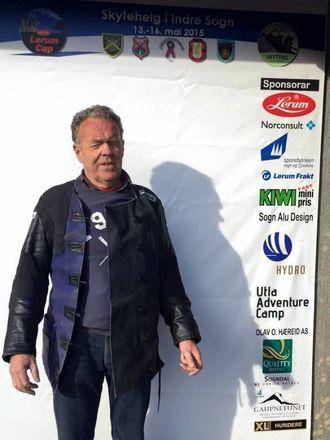 STORT SETT NØGD: Ludvig Indrebø, Farnes skyttarlag. Arkivfoto