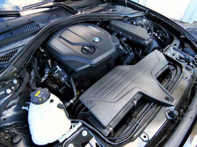 TRE SYLINDRAR: Den nye dieselmotoren har eit slagvolum på 1,5 liter og yt 116 hestekrefter. Saman med den 8-trinns automatiske girkassa oppfyller han dei fleste behov.