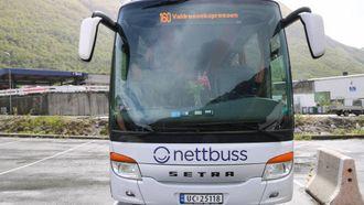 KREVJANDE: Det var ikkje berre-berre å få på plass ein ekspressbuss som skulle gå mellom aust og vest, fortel Melheim.