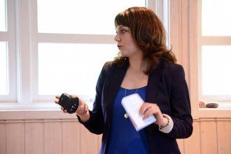 – HA EIN PLAN: Hanne Nygård-Bøe, i Vivendi og Rom for forandring, seier det er viktig du har eit mål for kva du vil oppnå gjennom sosiale medium.