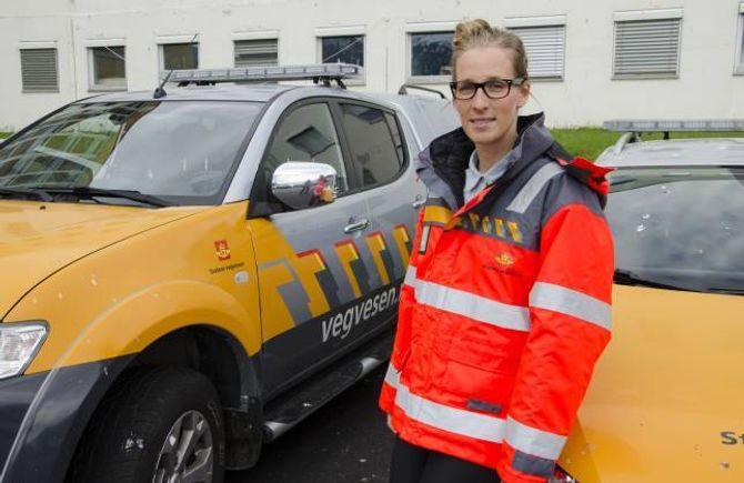 STYGGE EPISODAR: Åse Marie Eikeland, HMS-medarbeidar i Vegavdeling Sogn og Fjordane, fortel om fleire stygg episodar denne våren.