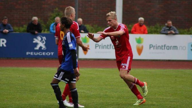 TOPPSCORAR: Truls Hovland var ein viktig bidragsytar i laget og vart toppscorar med 13 mål. Nyleg vart han kåra årets spelar saman med Eirik Rode.