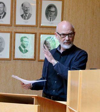 NYTTIG: Jan Olav Fretland (SV) meinar det var lurt å seie nei til planen i formannskapet, sidan det no har kome på plass avklaringar i saka.