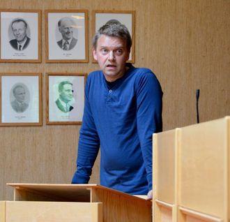 STØTTAR: Trond Øyen Einemo (H) har ikkje problem med å støtte saka, no som manglar har komen på plass.