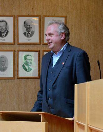 VIKTIG Å FØLGE OPP: Jan Geir Solheim, ordførar i Lærdal, er nøgd med konklusjonane til vegvesenet. Arkivfoto