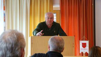 DÅRLEG UNNSKYLDNING: Geir Hilmar Sandvik (Frp) synest det verkar som at Høl prøvar å unnskylda Ap-politikken. Arkiv