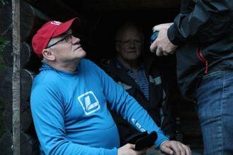 NY SNELLE: Formann i fiskeutvalet i ÅJFF, Svein Jarle Moen, viser fram den nyaste snella si.