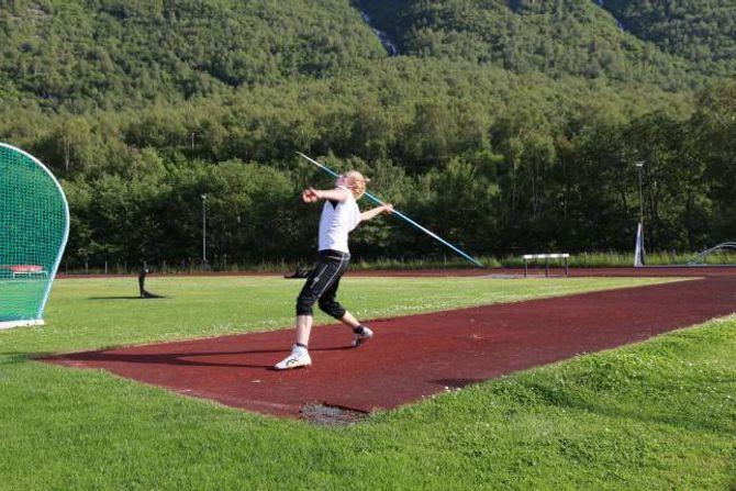 MÅL: Lidal har hatt junior-NM som mål i heile vinter og er naturlegvis godt nøgd med å ha nådd målet.
