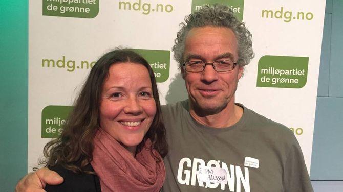 SKREIV HISTORIE: Sandra Opheim og Miljøpartiet dei grøne kom med listeframlegg for første gong i Årdal.