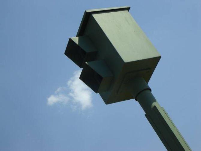 ULOVLEG: I fleire land er det ulovleg å bruke utstyr som varslar om fotoboksar. Gjer du det, kan det koste deg dyrt.