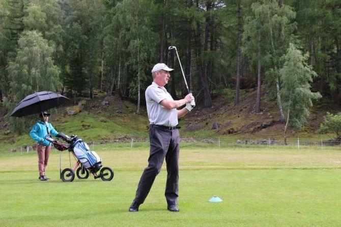 BREITT TILBOD: Golfklubben tilby aktivitetar for både nybyrjarar og meir erfarne spelarar.
