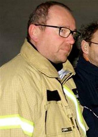 – SER LOVANDE UT: Brannsjef i Årdal og Lærdal Gaute Johnsgaard. Arkivfoto
