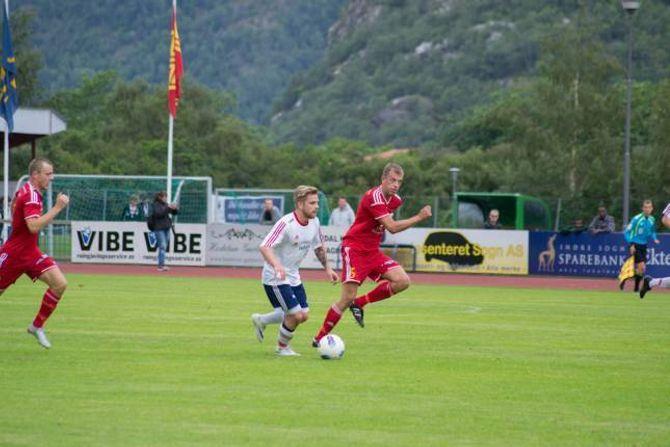 GAV DEI LOV: Ivan Øy meiner dei gav motstandarane lov til å ha eit forsprang gjennom delar av kampen.