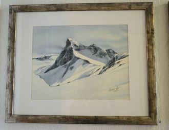 KJENDE TOPPAR: Margun Siv Øren, har delteke på utstillingar i Årdal og utanfor bygda.