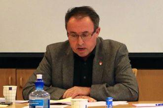 SKAL SVARE: Ordførar Arild Ingar Lægreid vil gi eit svar i kommunestyremøtet 20 november.