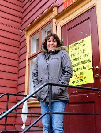 KLAR FOR JUL: Lise Einemo, Kvammes Kafé og Pub.