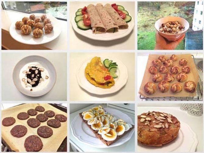 SUNNE ALTERNATIV: 20-åringen meiner livet er for kort for diettar når det finns så mykje sunn og god mat.