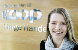 KOMMUNIKASJONSSJEF I COOP: Kristin Paus.