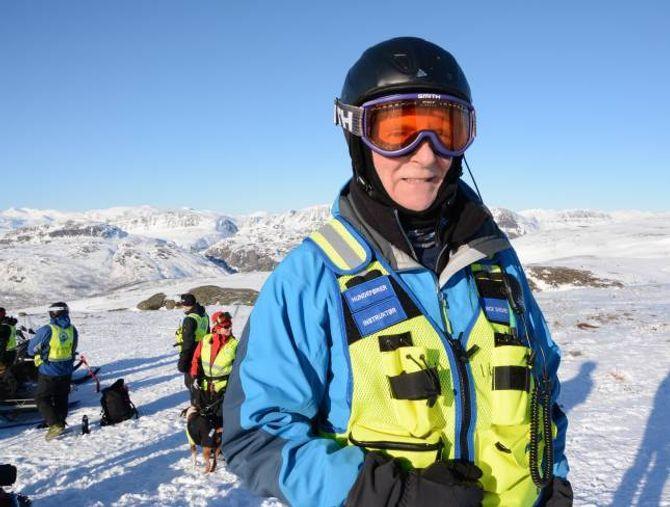 ERFAREN: Kursleiar for hovudkurset Vinter Sør Noreg Mick Sheard. Ina Eirin Eliassen