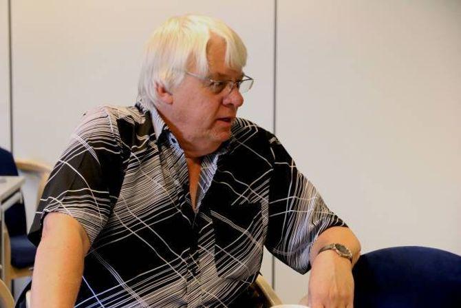 SIGNAL: Odd Arne Fodnes i Årdalstangen Kjemiske Arbeidarlag informerte om karbonprosjektet og kva signal dette vil sende til Årdal.