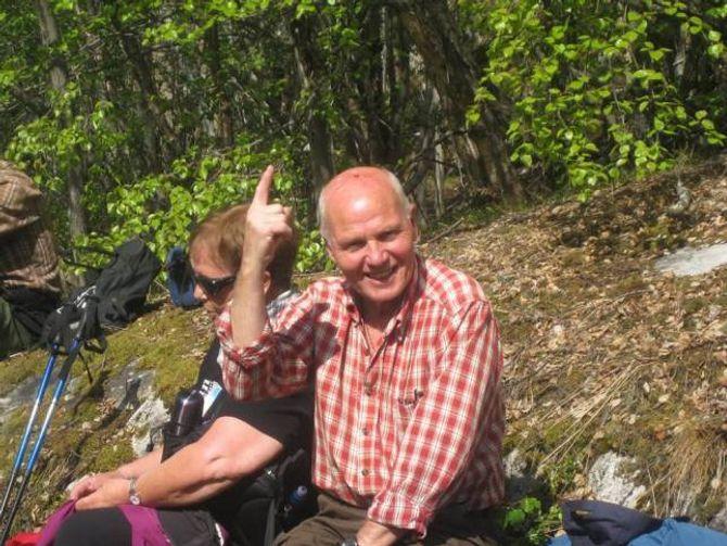 ELDESJELER: Svein Fretland og kona Anna, er blant eldsjelene som engasjerer seg blant anna i trimpostar.
