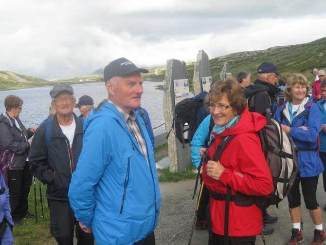 ELDSJELER: Jon Morland og kona Ragnhild er ivrige på å få årdølene til å ut og gå