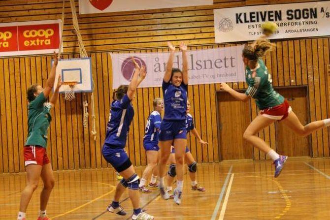 HEIMELAGET SIN BESTE: Ein jury kåra Ida Jevnaker til Jotun/ÅTIL sin beste spelar.