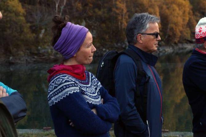 STERKT IMOT: Sandra Opheim (MDG) har vore tydeleg på at ho er sterkt imot kraftutbygging i Nundalen og fekk Ap med på å stemma dette ned i komande kommunestyremøte.