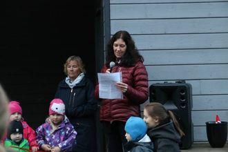 UTVIKLING: Styrar Heidi Austrheim seier dei merkar stor forskjell på aktiviteten til barna.