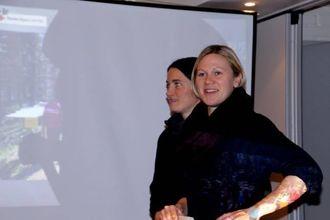 LEIAR: Monika Lysne takka bygdefolket for at det stilte opp.