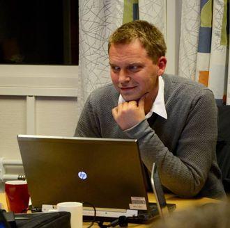 HAR JOBBA RASKT: Varaordførar Trond Øyen Einemo (H) var fredag med på synfaringa med UDI. Gir UDI klarsignal kan det gå kort tid før flyktningane kjem.Arkiv