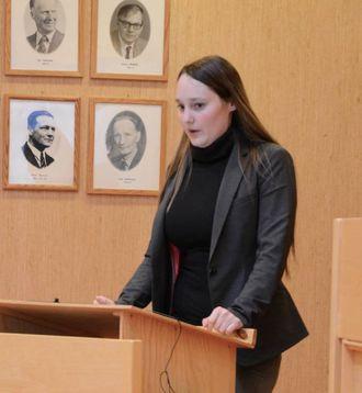 – LEVANDE GRENDER: Gro Starheimsæter (Sp) meiner det er viktig å satse på å investere i trivselstiltak for barn og unge.