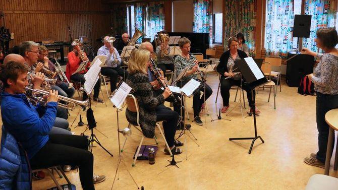 90 ÅR: I 2015 fylte Lærdal Musikklag 90 år, noko som blei markert gjennom heile året.