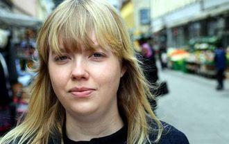 Synnøve Marie Sætre i Målungdommen går gjerne i fakkeltog for meir nynorsk i Donald.