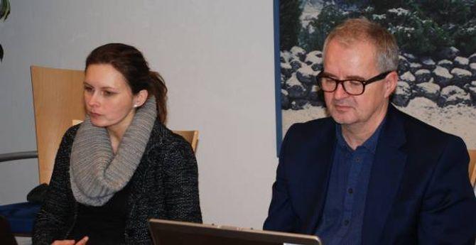 VIKTIG:– Eg meiner det er særs viktig at arbeidet med einslege mindreårige vert prioritert, sa Annike Vanberg (SV).