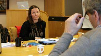 REAGERTE: Sandra Opheim (MDG) reagerte på utspelet til Offerdal i formannskapet.