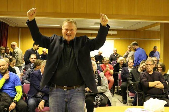 NY LEIAR: Rune Guttormsen var stolt for å bli valt som ny leiar.