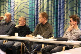 OMDØMME: Erling Eggum (nr. to f.h.) seier ei oppgradering er viktig for omdømmet til Årdal.
